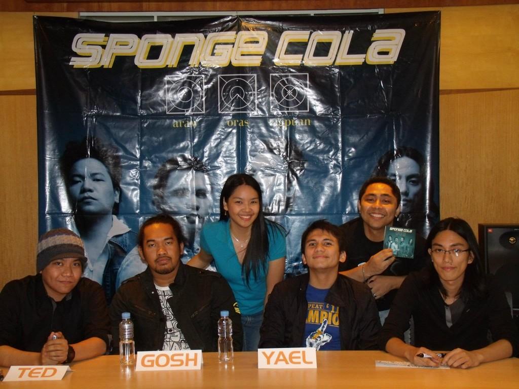 First Blogging Experience: Sponge Cola's Fourth Album