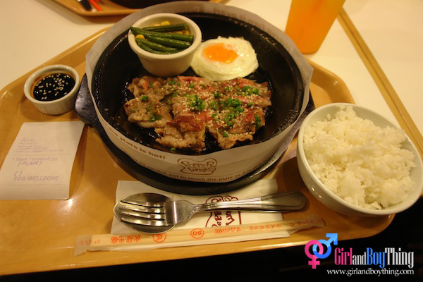 A Dinner Date at Pepper Lunch