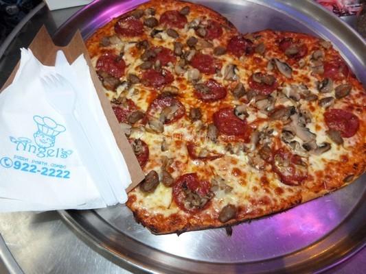 Heart of Angel's Pizza.Pasta.Combo