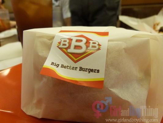 Enjoying Big...Better...Burgers!