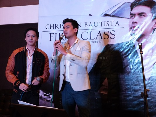 """CHRISTIAN BAUTISTA'S """"FIRST CLASS:OUTBOUND EXPANDED EDITION"""" ALBUM LAUNCH"""