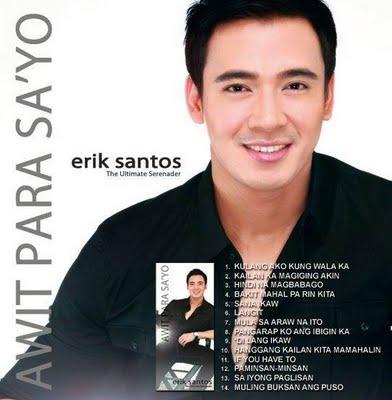 "Ultimate Serenader Erik Santos on ""Awit Para Sa'yo"" Album"