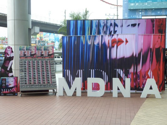 """MADONNA IS BACK WITH HER NEW ALBUM """"MDNA"""""""