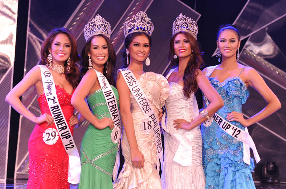 The Binibining Pilipinas 2012  Grand Winners