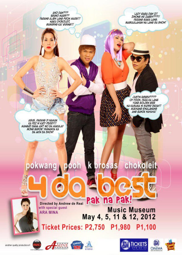 """""""4 Da Best"""" The Repeat with Pokwang, Pooh, Chokoleit, and K Brosas"""