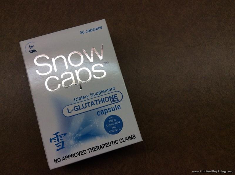 Snow Caps L-Glutathione Capsule