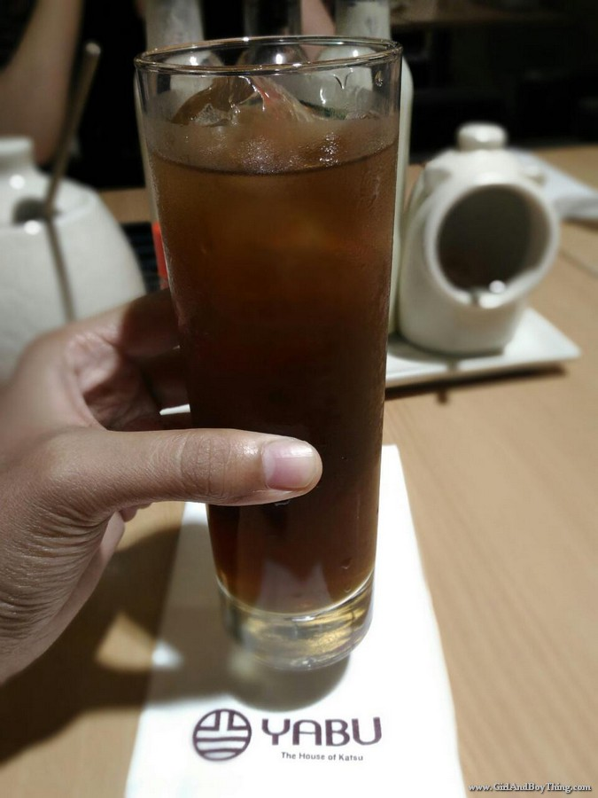 lychee and peach iced tea
