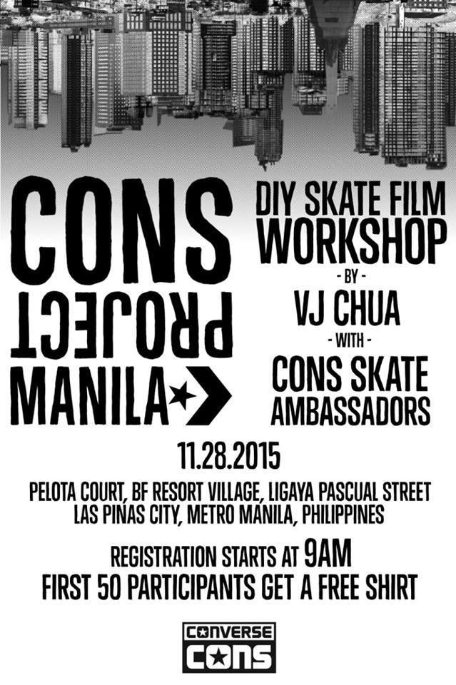 CONS PROJECT MANILA 2015 OFFICIAL POSTER