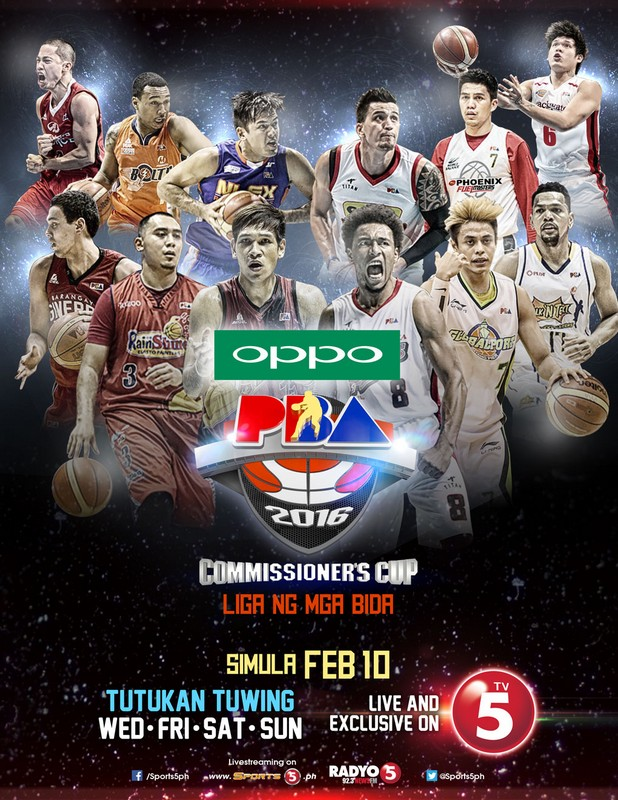 OPPO PBA Commissioner's cup partnership