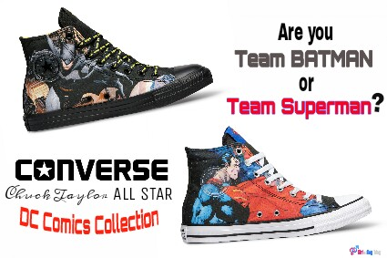 Converse Chuck Taylor All Star DC Collection