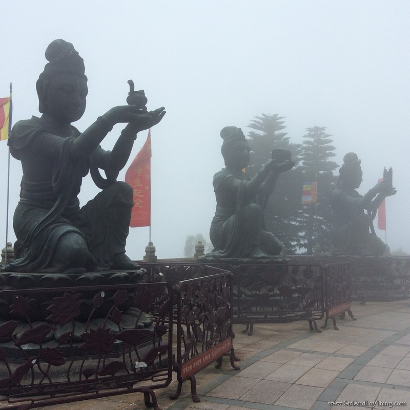 Ngong Ping Village Big Buddha
