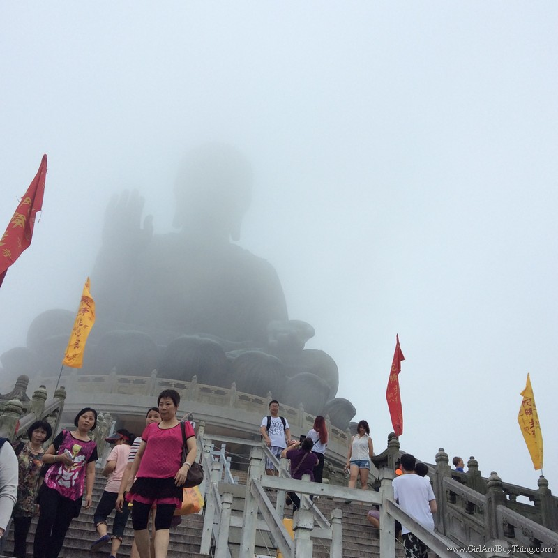 Ngong Ping Village Big Buddha