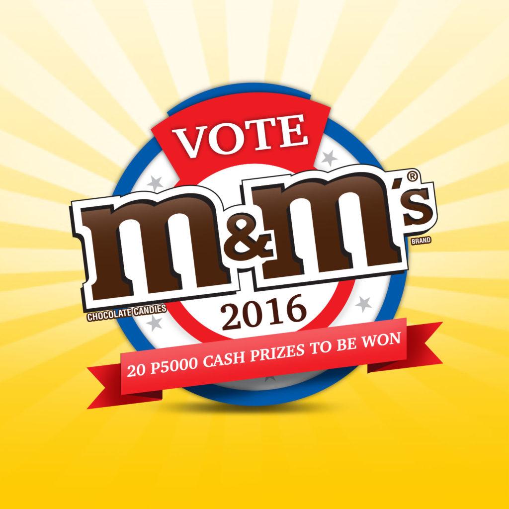 Vote M&M's 2016 Campaign