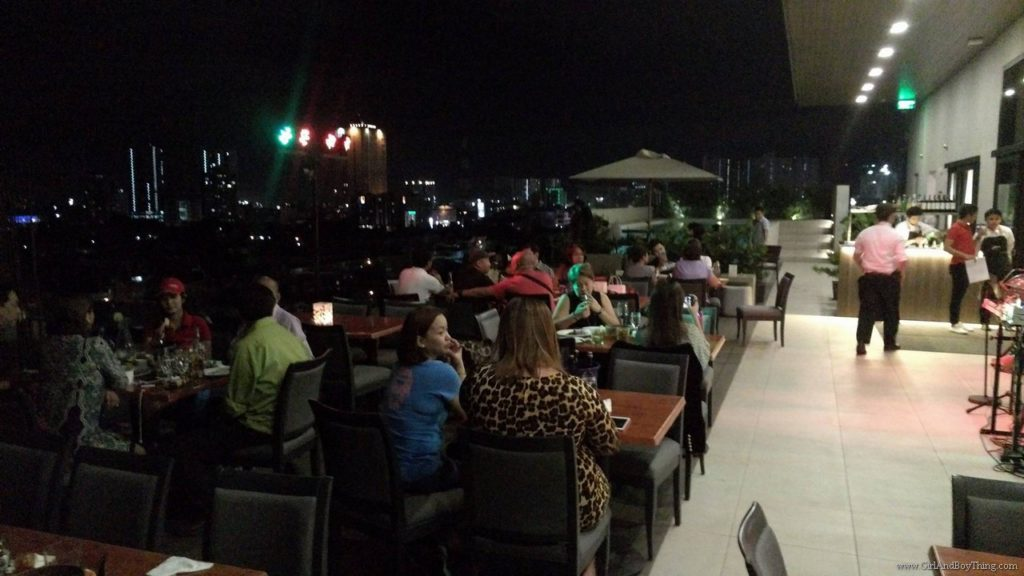 Chillin At The Roof Deck Bar By Meranti Girlandboything Lifestyle And Travel Blog