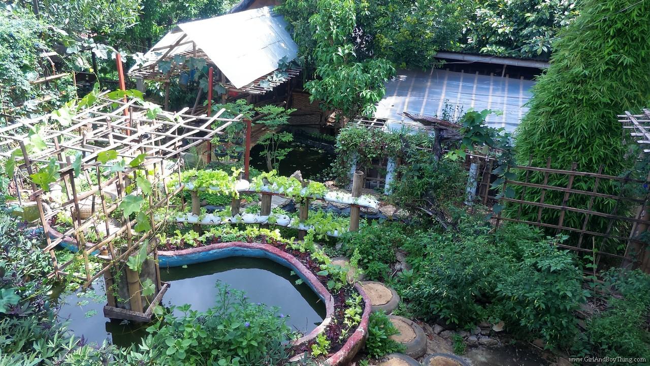 Jaya Secret Garden top view