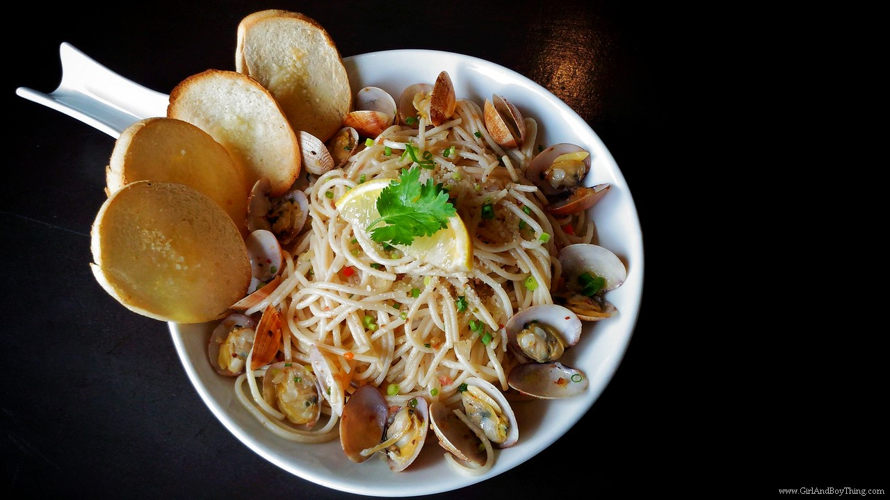 Vittorio's Clam pasta