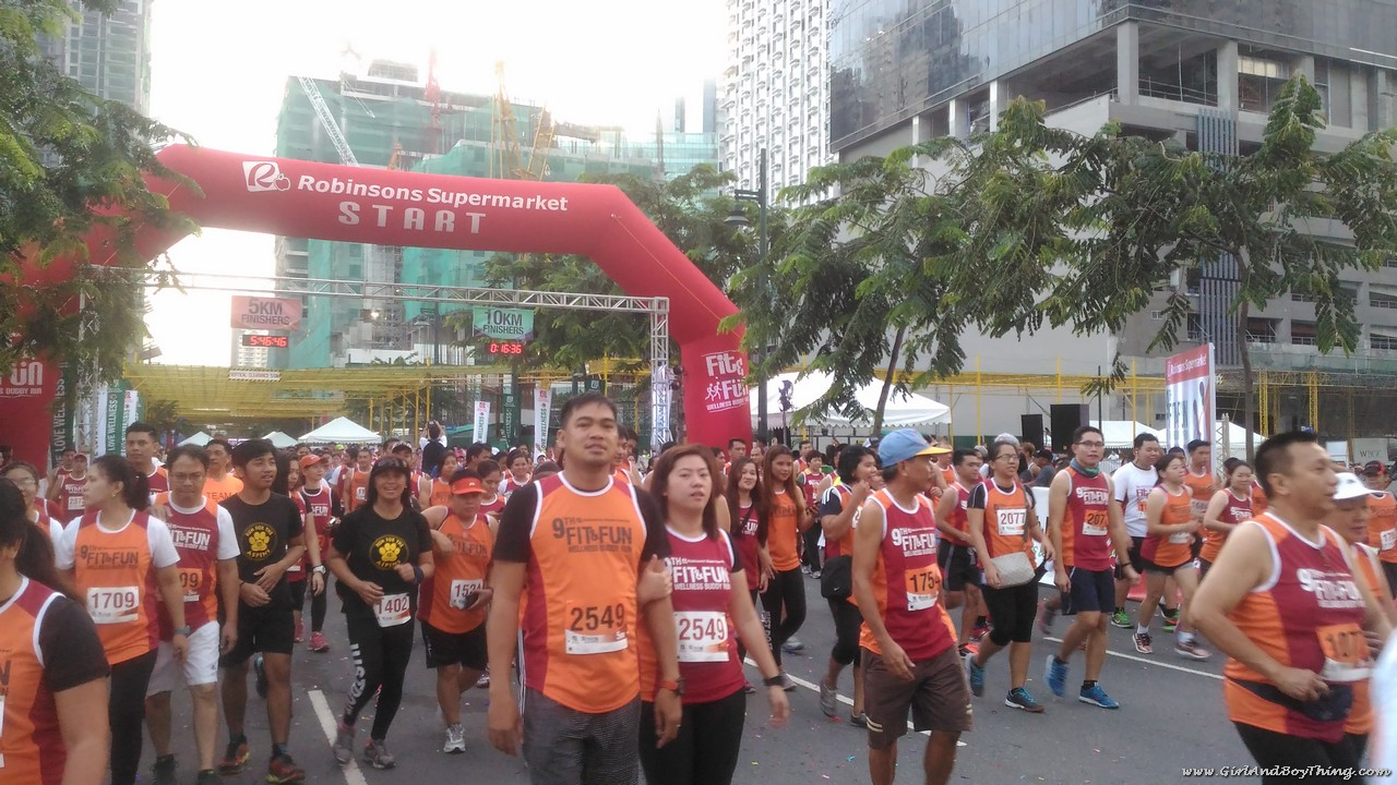 9th Robinsons Supermarket Fit and Fun Wellness Buddy Run 5k