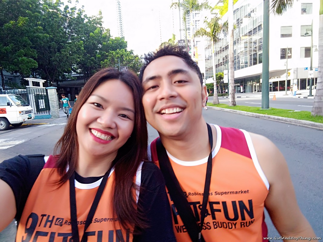 9th Robinsons Supermarket Fit and Fun Wellness Buddy Run with rey belen