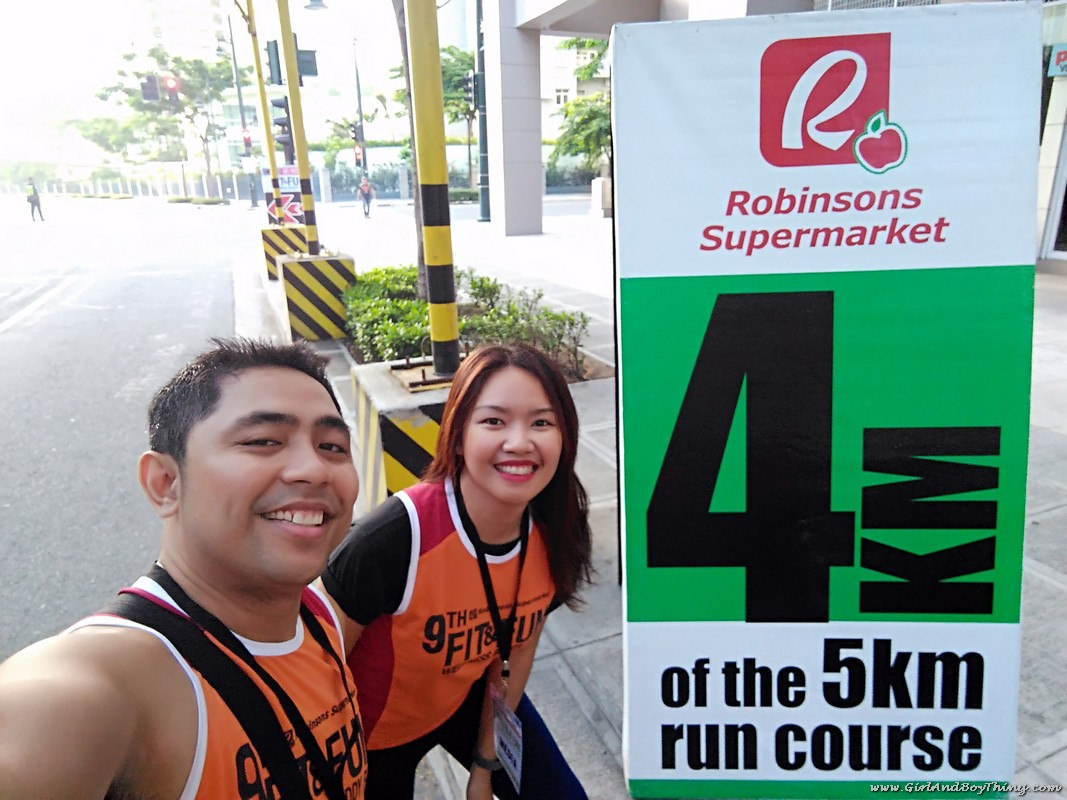 9th Robinsons Supermarket's Fit and Fun Wellness Buddy Run 4km marker