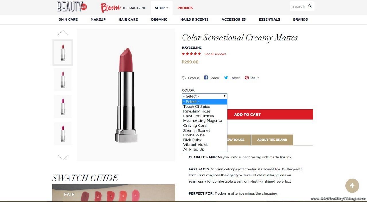 BeautyMNL shopping