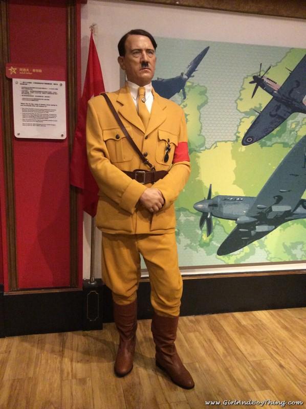 Madame Tussauds Hong Kong Adolf Hitler