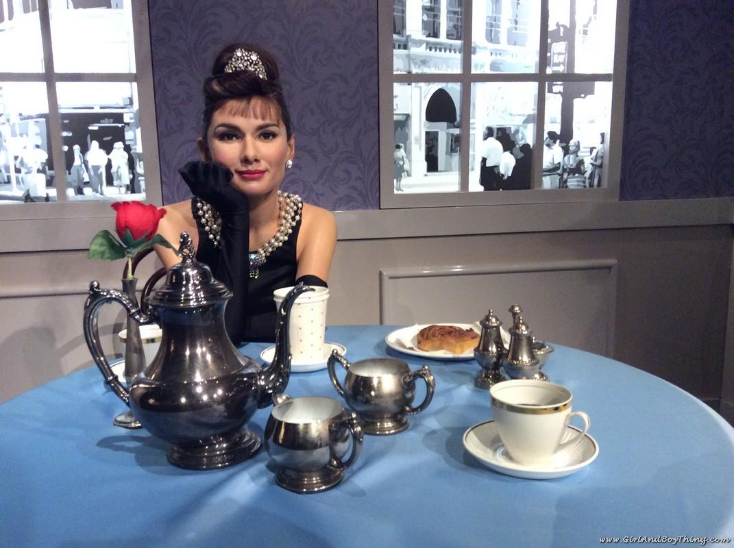 Madame Tussauds Hong Kong Audrey Hepburn