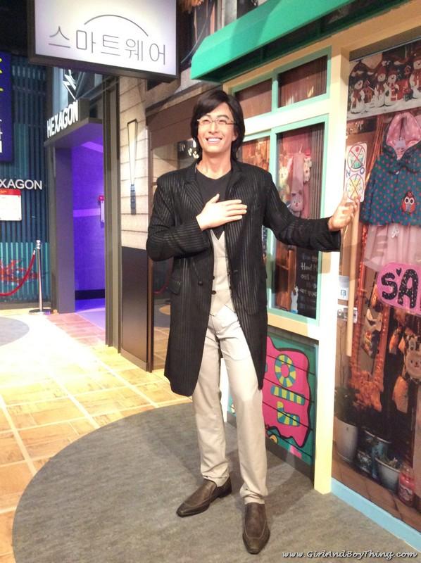 Madame Tussauds Hong Kong Bae Yong-joon