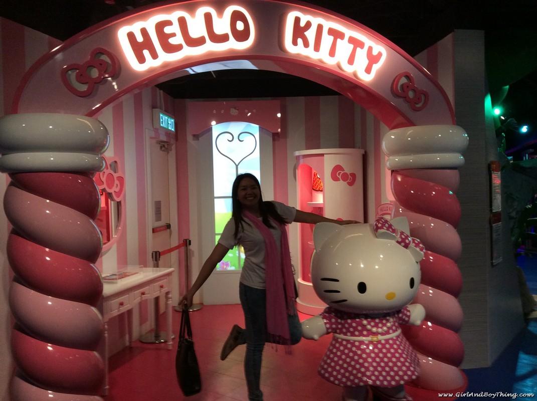 Madame Tussauds Hong Kong Hello Kitty