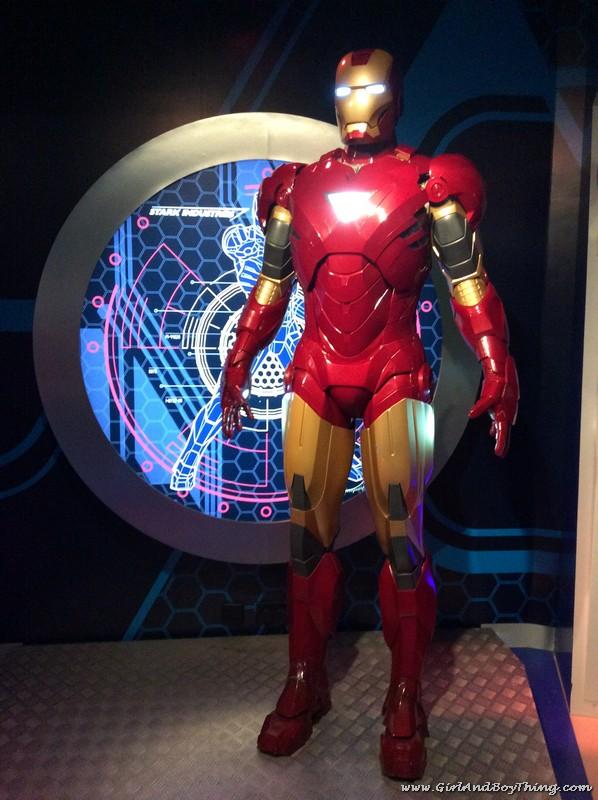 Madame Tussauds Hong Kong Ironman
