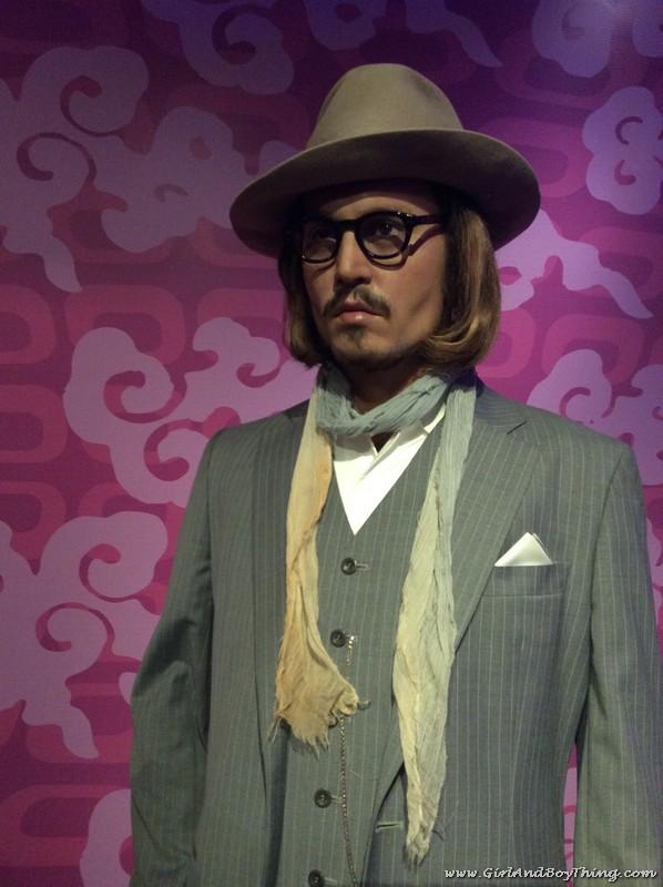 Madame Tussauds Hong Kong Johnny Depp