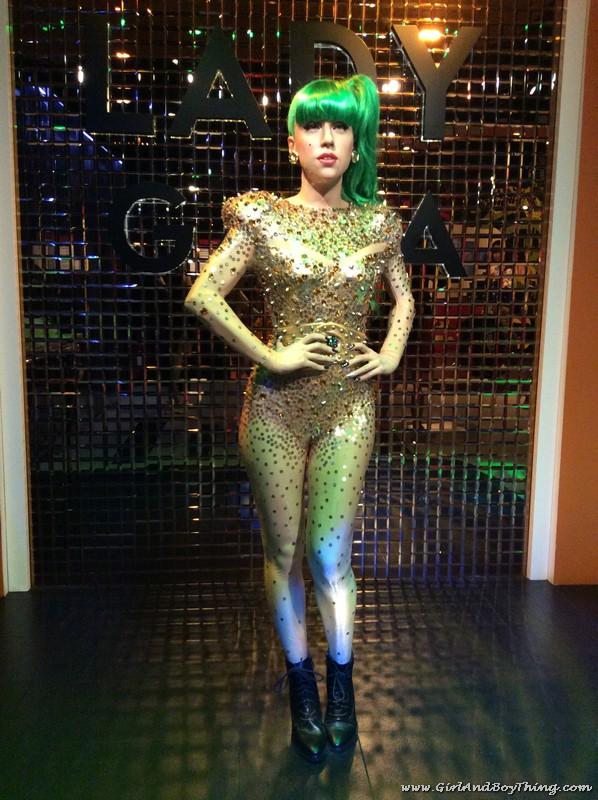 Madame Tussauds Hong Kong Lady Gaga
