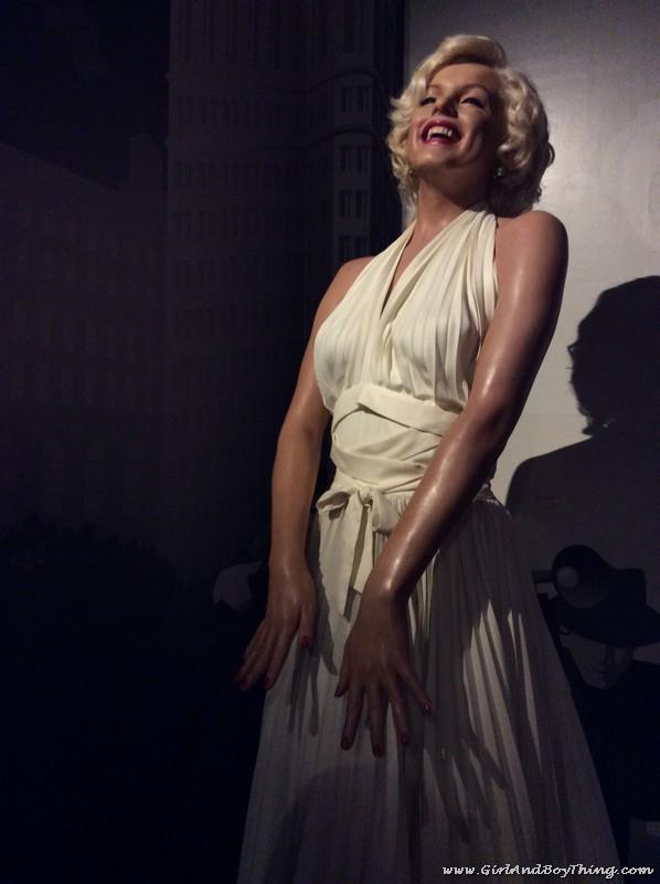 Madame Tussauds Hong Kong Marilyn Monroe