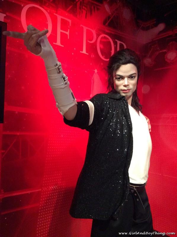 Madame Tussauds Hong Kong Michael Jackson