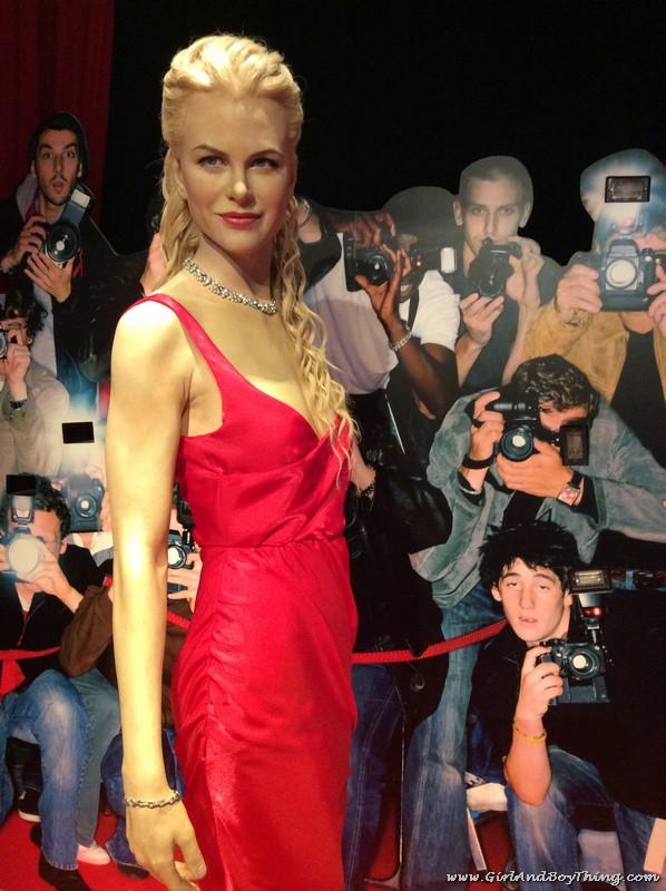 Madame Tussauds Hong Kong Nocole Kidman