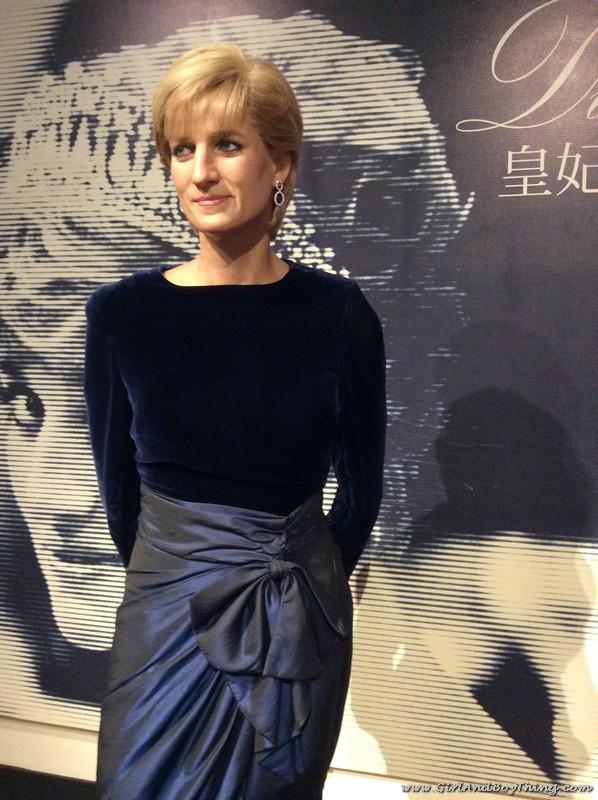 Madame Tussauds Hong Kong Princess Diana
