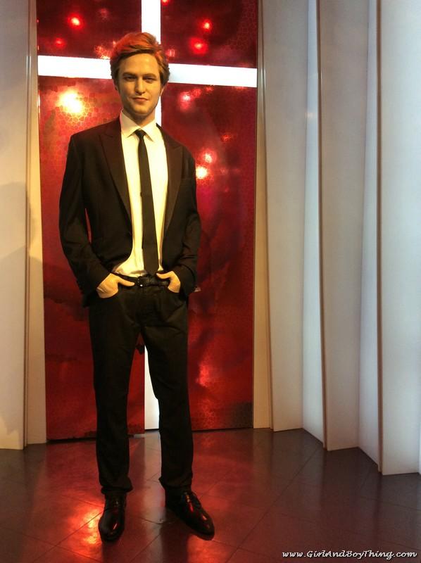 Madame Tussauds Hong Kong Robert Pattinson