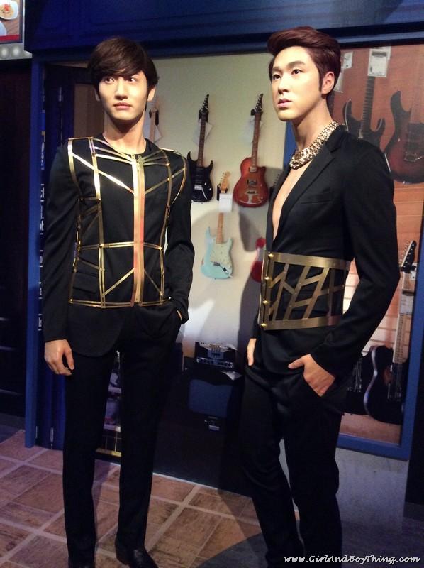 Madame Tussauds Hong Kong TVXQ