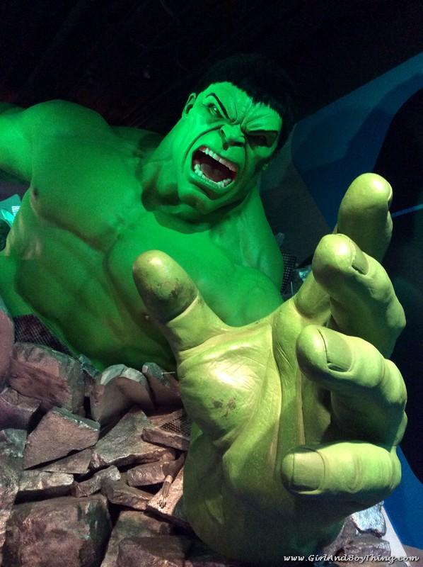 Madame Tussauds Hong Kong The Hulk