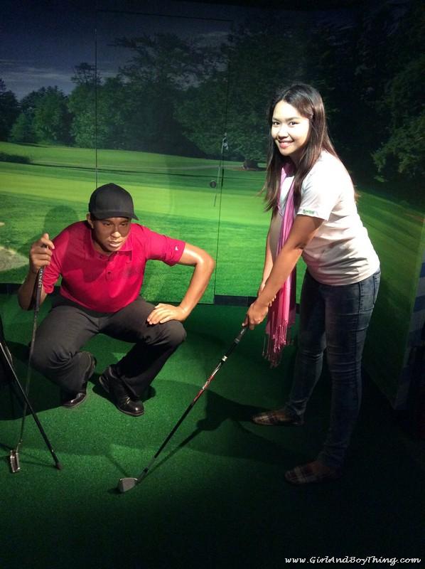 Madame Tussauds Hong Kong Tiger Woods