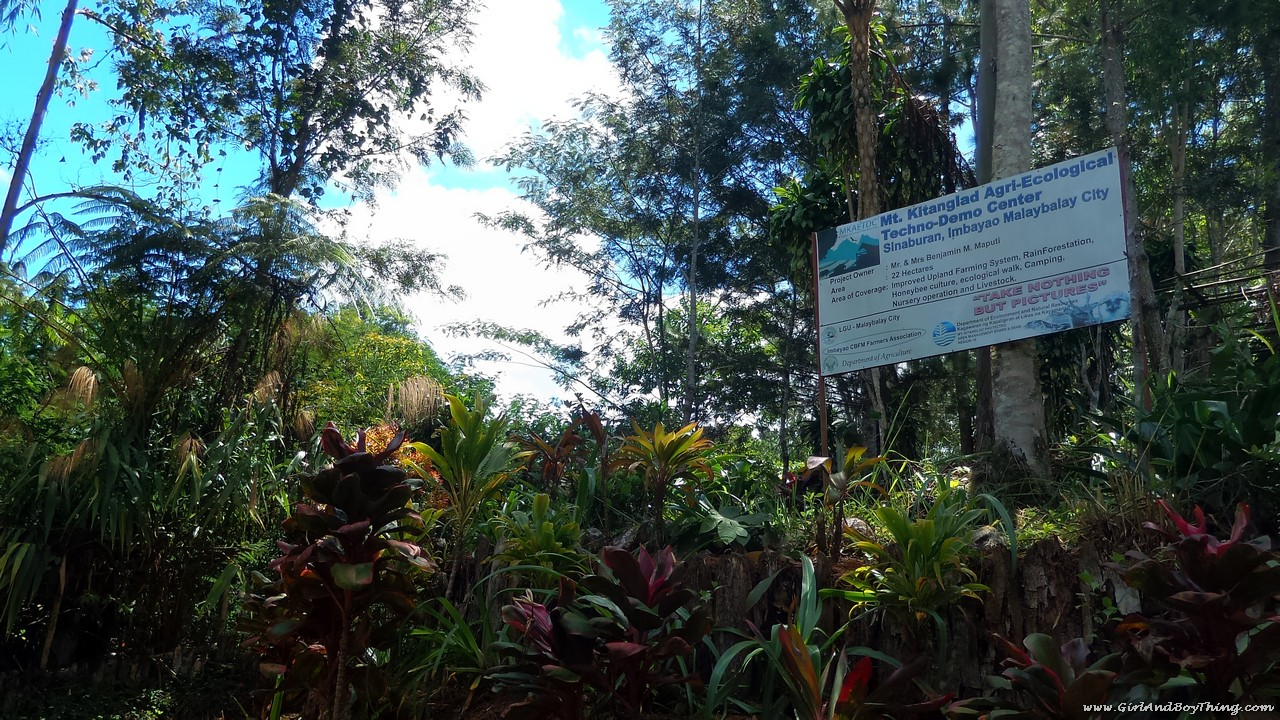 Mt. Kitanglad Agri-Ecological Techno-Demo Center