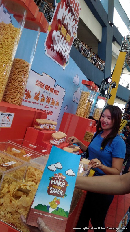 Oishi Snacktacular 2016 Make your own snack