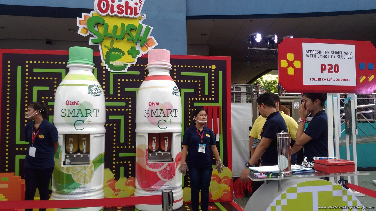 Oishi Snacktacular 2016 Oishi Slush booth