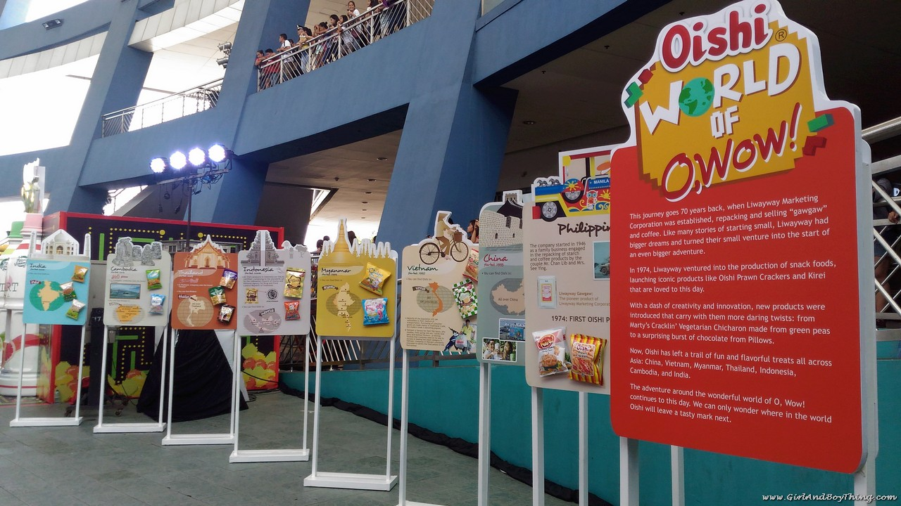 Oishi Snacktacular 2016 World of O wow