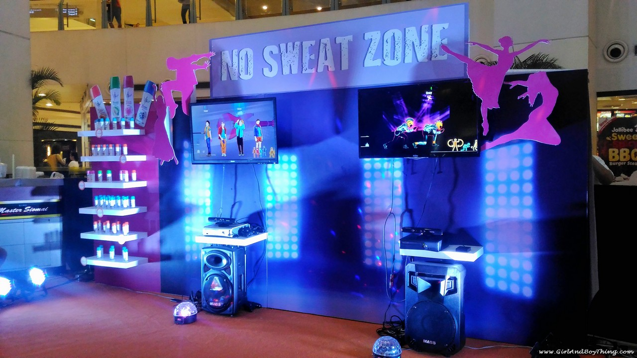 Silkamazing @ 15 No Sweat Zone booth