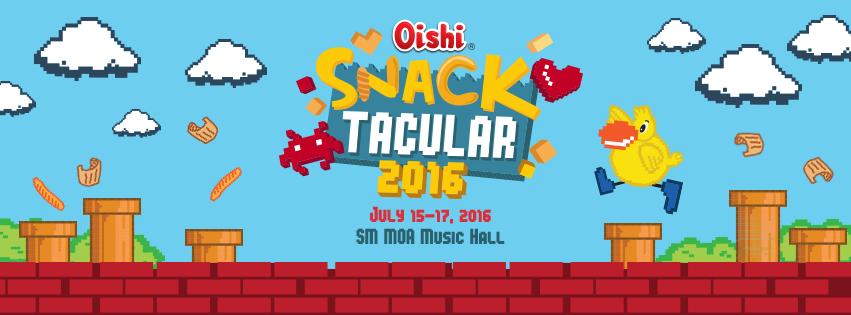 oishi snacktacular