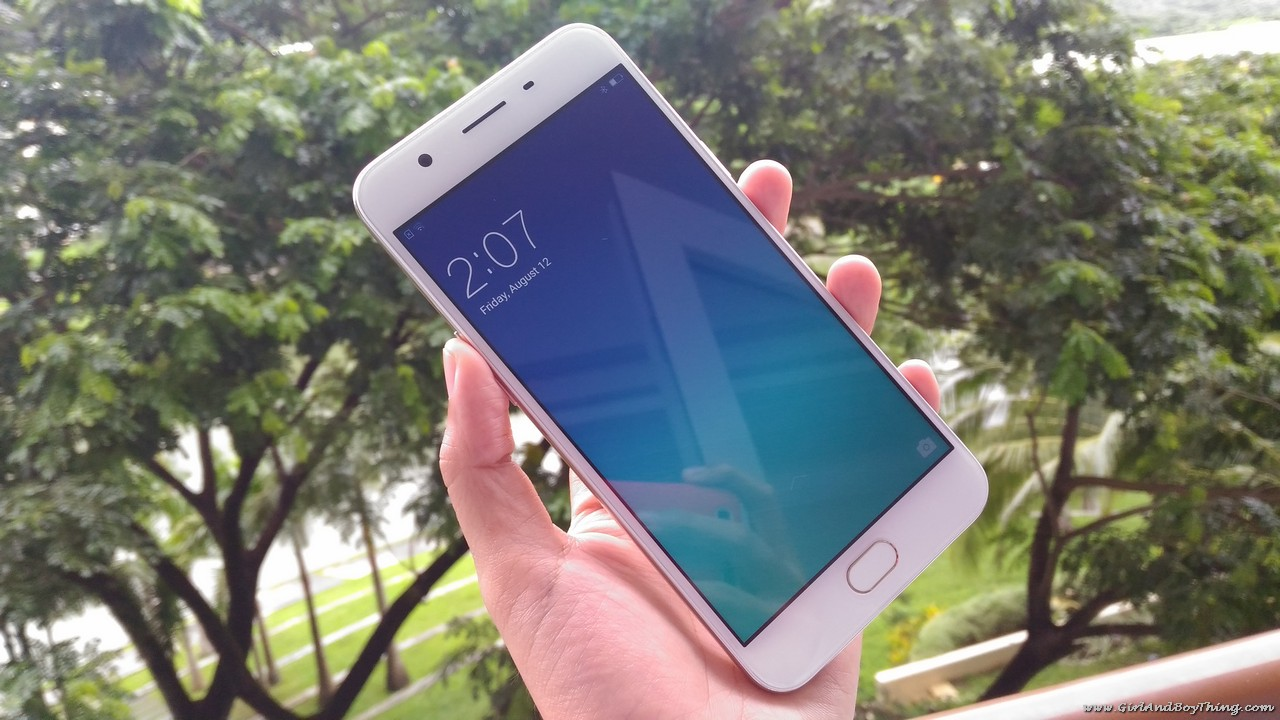 OPPO F1s front