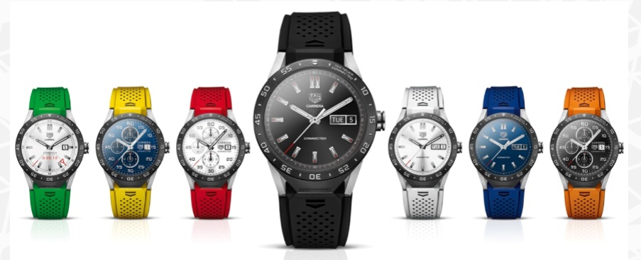 TAG Heuer Connected watch strap colors