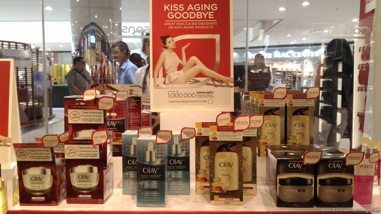 Watsons Kiss Aging Goodbye participating brands