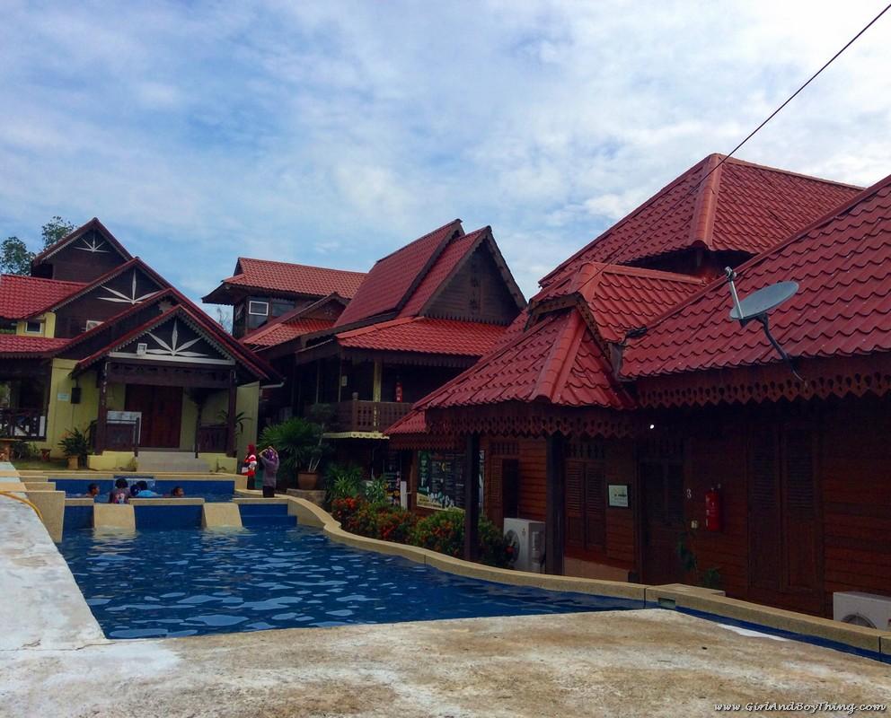 kampungstay-desa-murni-pool-area