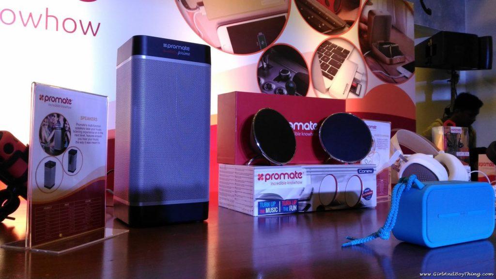 Promate audio accessories